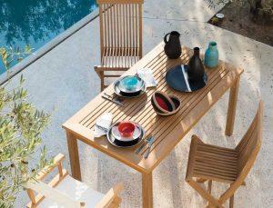 tavoli plastica giardino verde design azienda floricola donetti arredo giardino teak