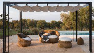 slide_estella_pergola_alluminio verde design_azienda floricola_donetti